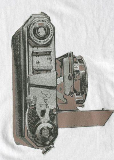 Serigrafía en plata mate